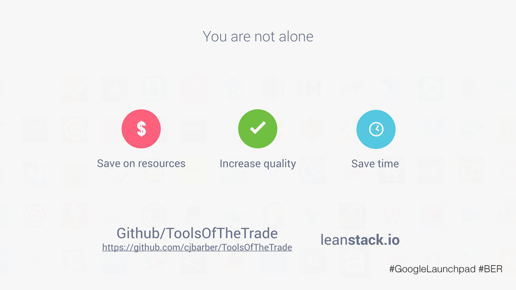 You are not alone leanstack.io https://github.c...