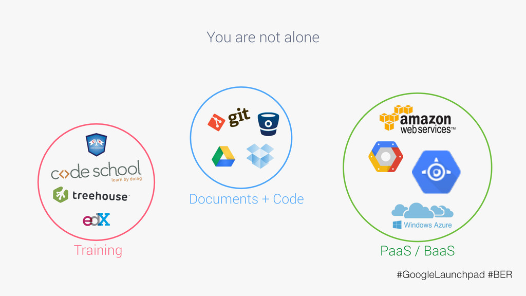 You are not alone Training PaaS / BaaS Document...