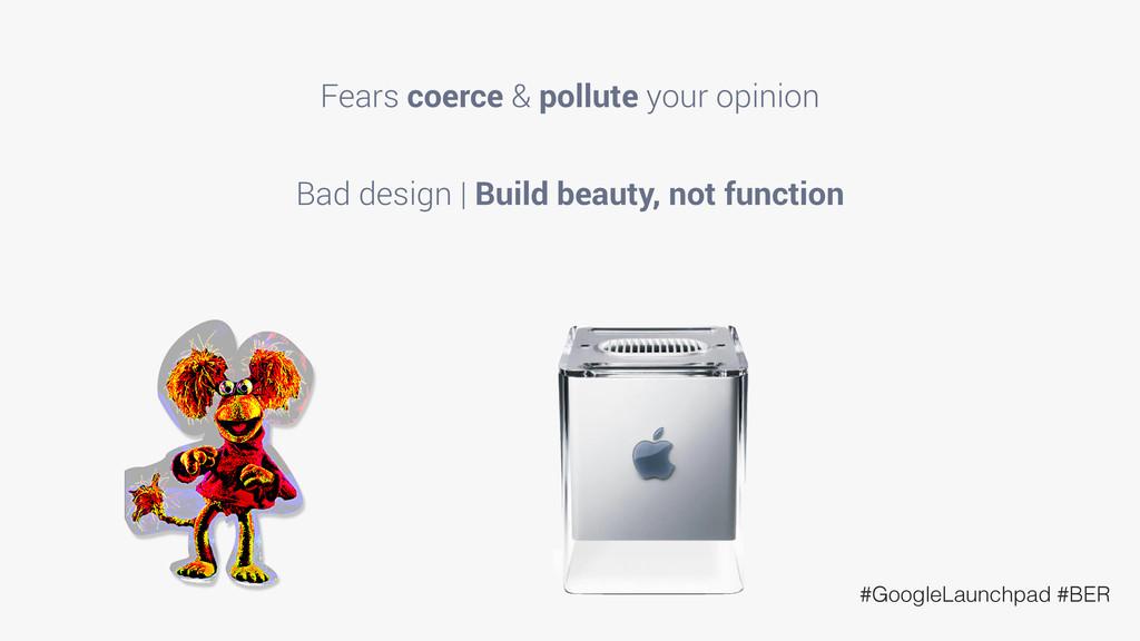 #GoogleLaunchpad #BER Fears coerce & pollute yo...