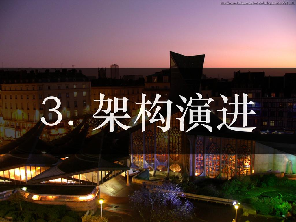 3. 架构演进 http://www.flickr.com/photos/declicjardi...