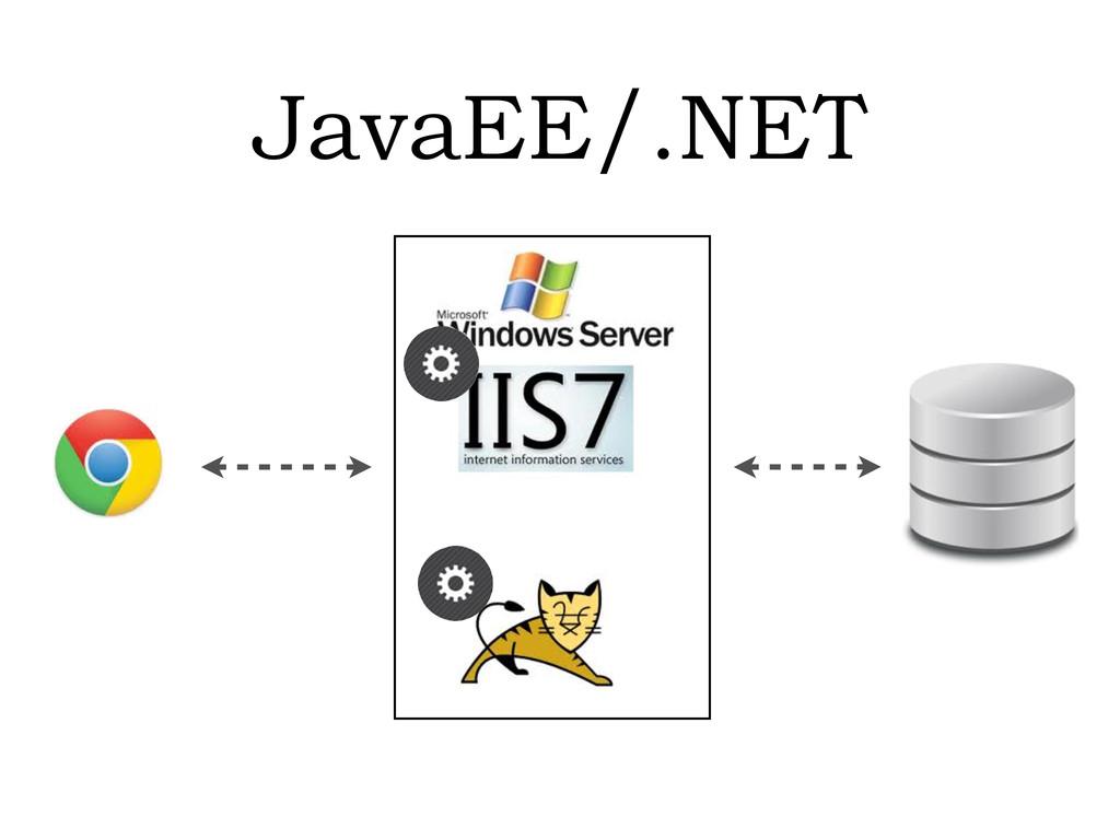 JavaEE/.NET