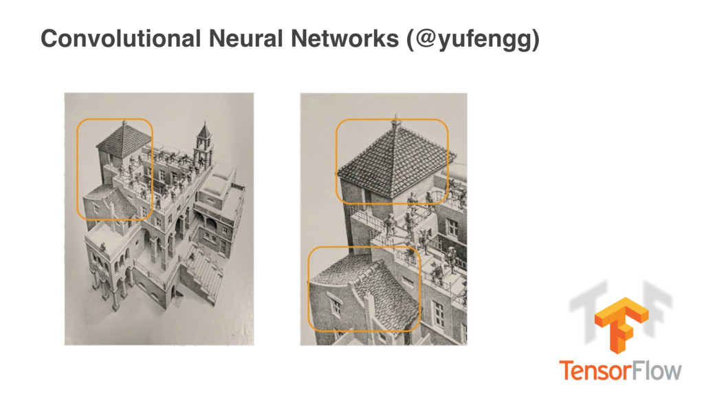 Convolutional Neural Networks (@yufengg)