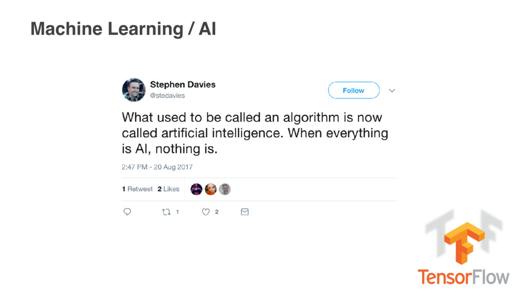 Machine Learning / AI