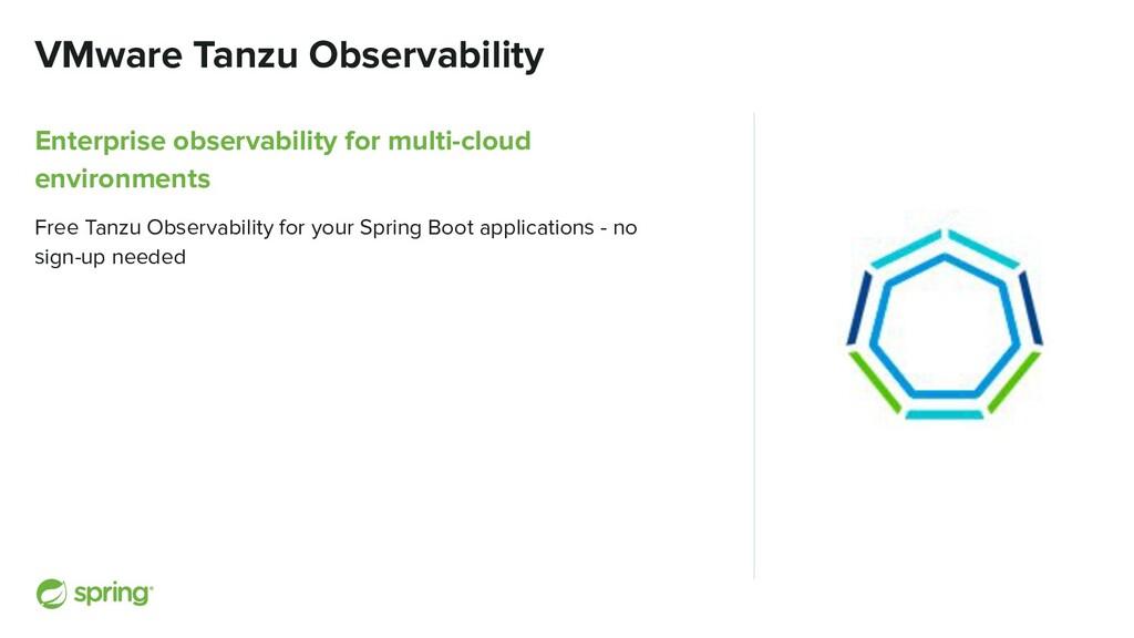 VMware Tanzu Observability Enterprise observabi...