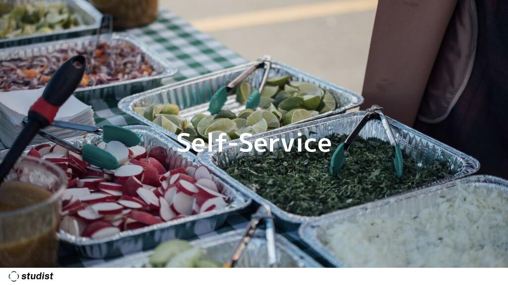 #agiletechexpo Self-Service