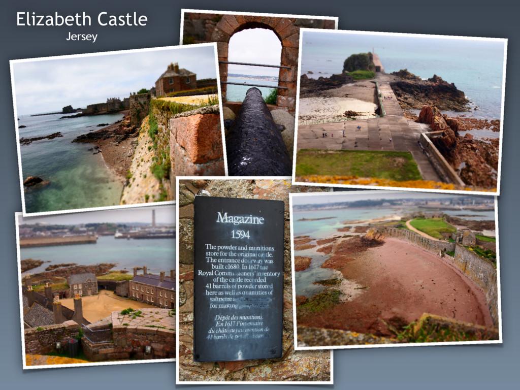 Elizabeth Castle Jersey