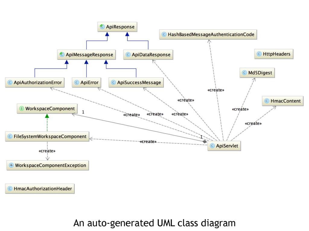 An auto-generated UML class diagram