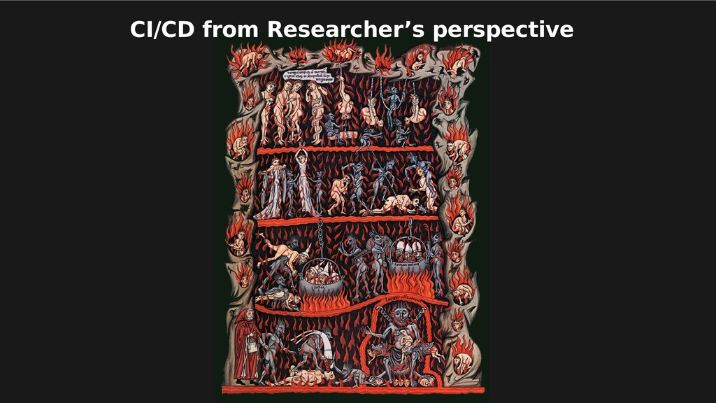 CI/CD from Researcher's perspective