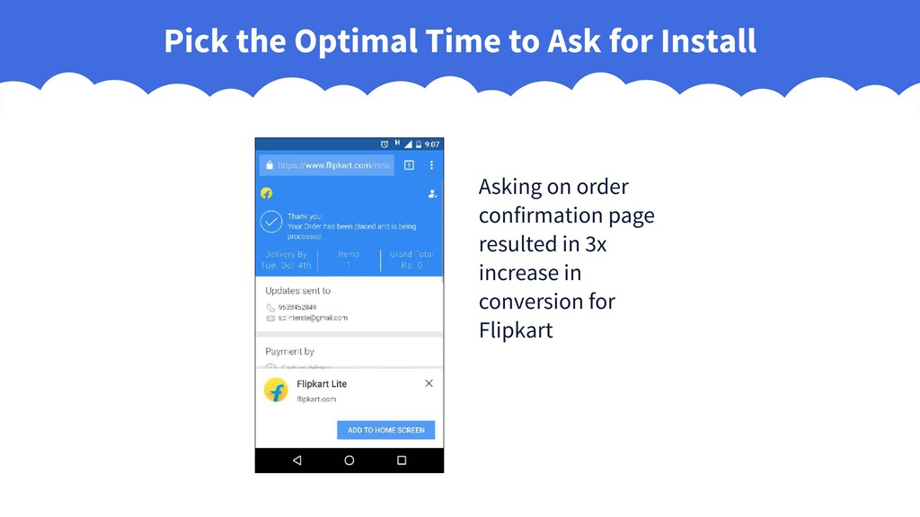 Pick the Optimal Time to Ask for Install Asking...