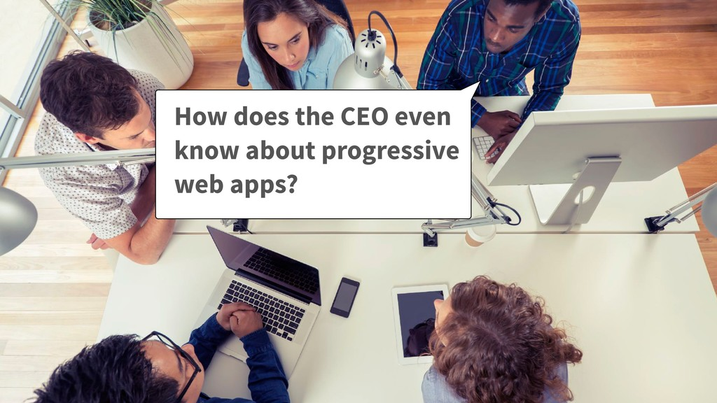 How does the CEO even know about progressive we...