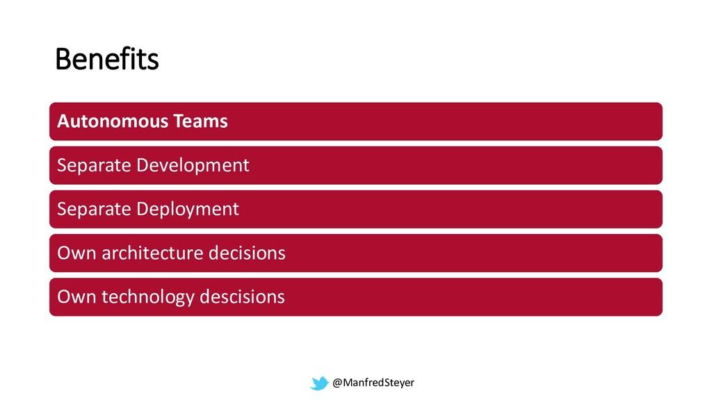 @ManfredSteyer Benefits Autonomous Teams Separa...