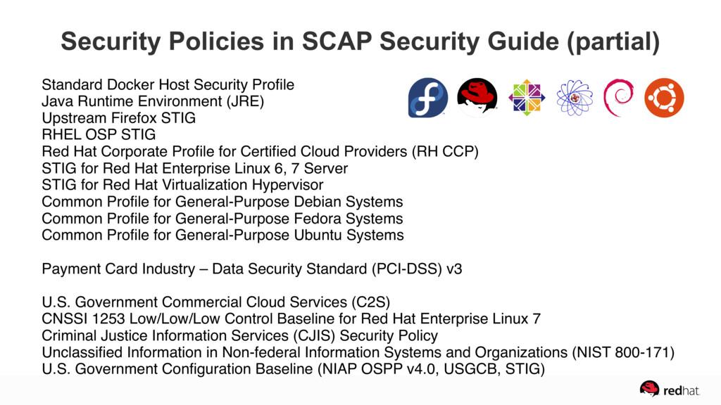 Standard Docker Host Security Profile Java Runt...