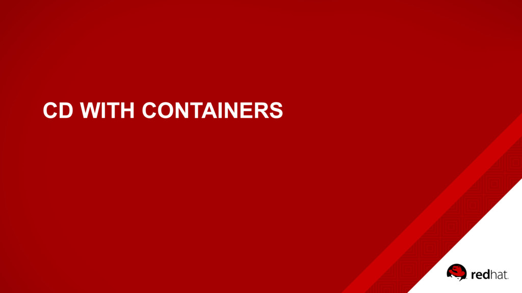 CD WITH CONTAINERS