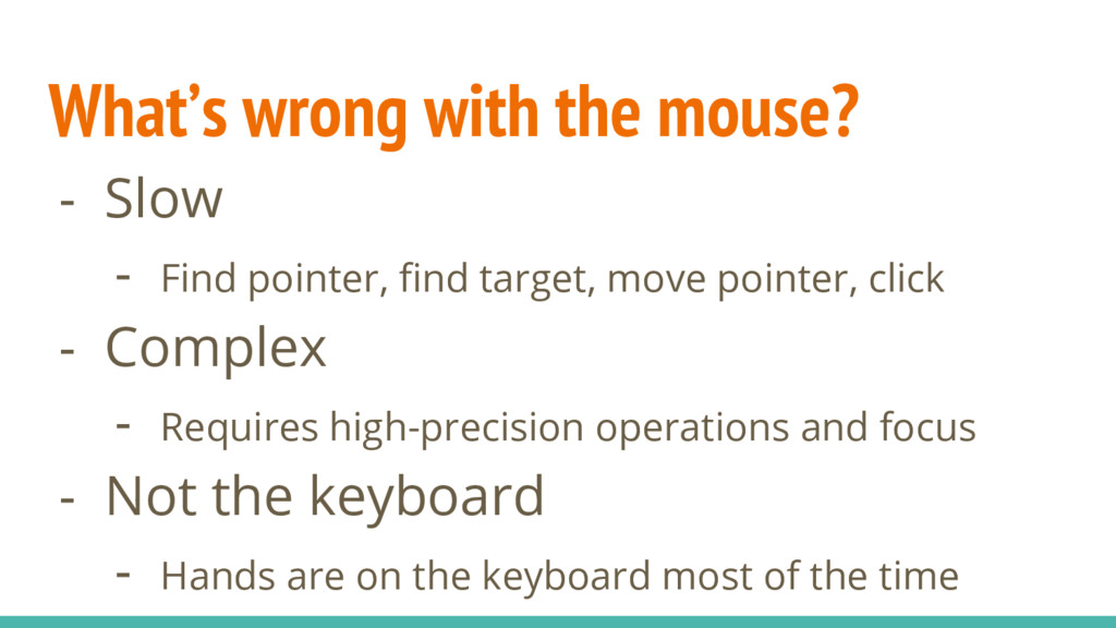 What's wrong with the mouse? - Slow - Find poin...