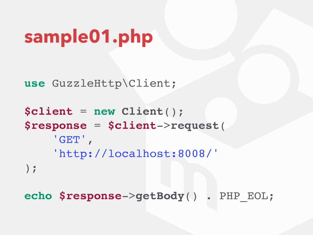 sample01.php use GuzzleHttp\Client; $client = n...