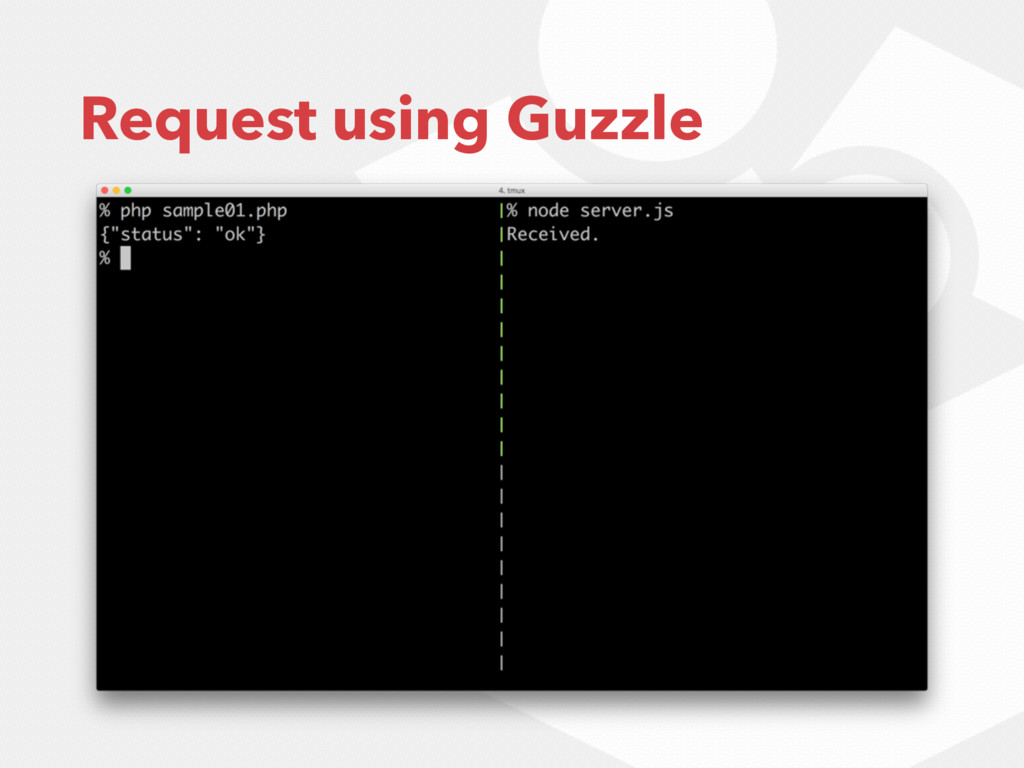 Request using Guzzle