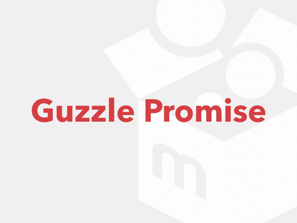 Guzzle Promise