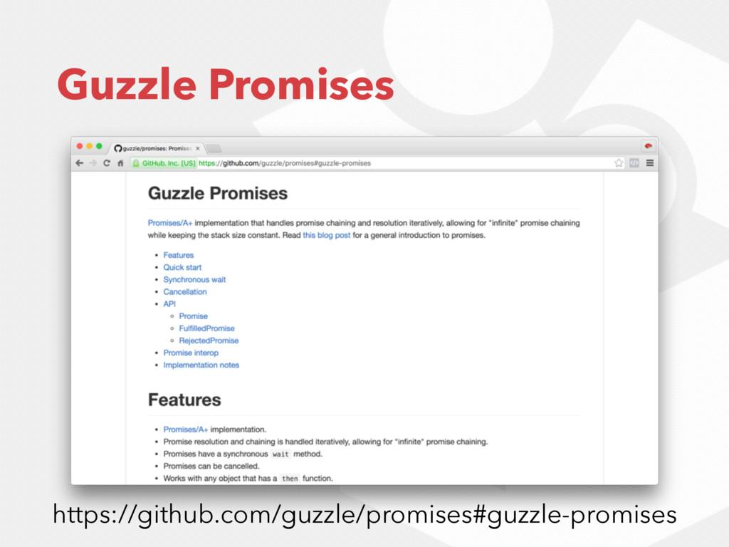 Guzzle Promises https://github.com/guzzle/promi...