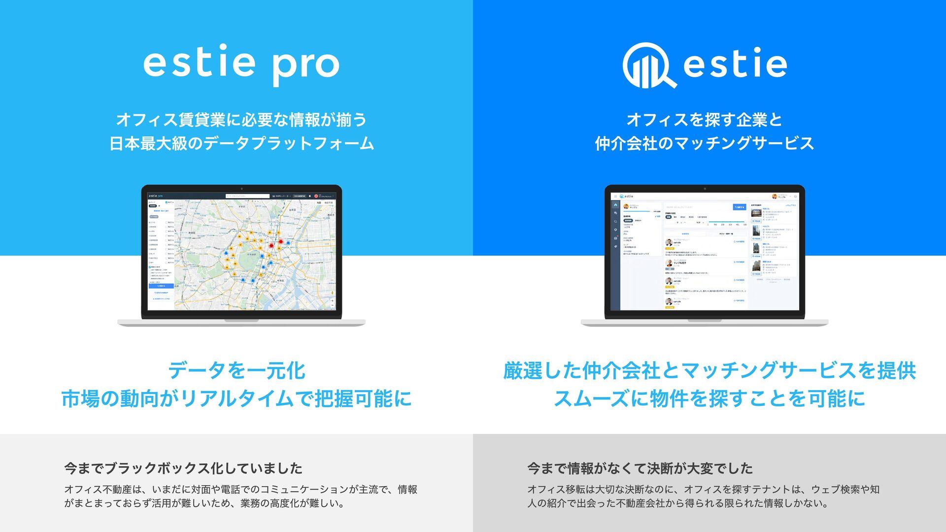 オフィス賃貸業に必要な情報が揃う  日本最大級のデータプラットフォーム オフィスを探す企業と...