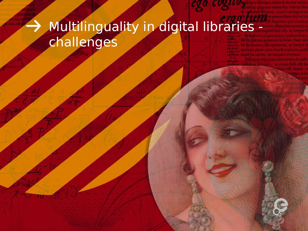Multilinguality in digital libraries - challeng...