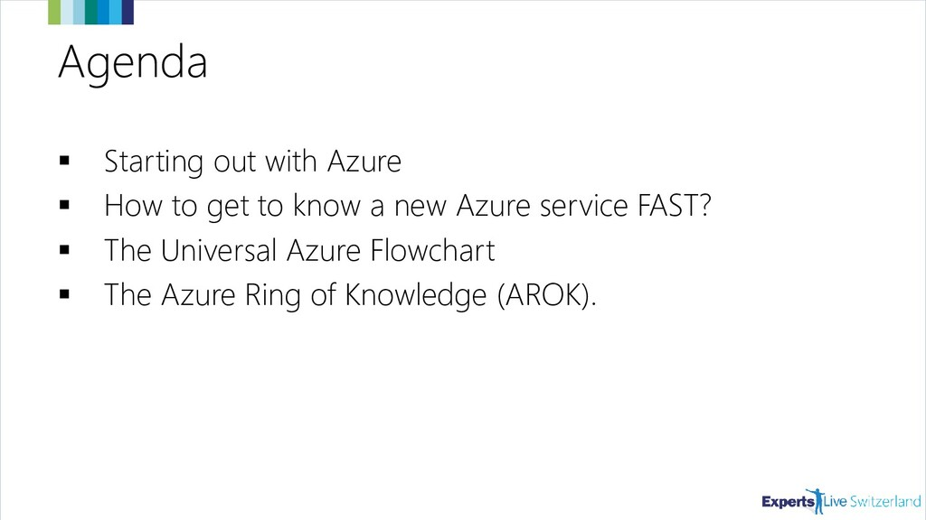 Agenda ▪ Starting out with Azure ▪ How to get t...