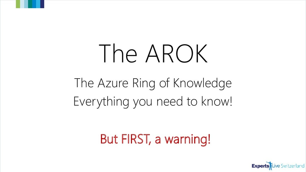 The AROK The Azure Ring of Knowledge Everything...