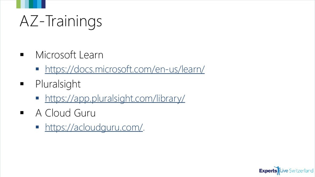 AZ-Trainings ▪ Microsoft Learn ▪ https://docs.m...