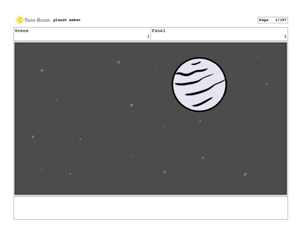 Scene 1 Panel 1 planet maker Page 1/197