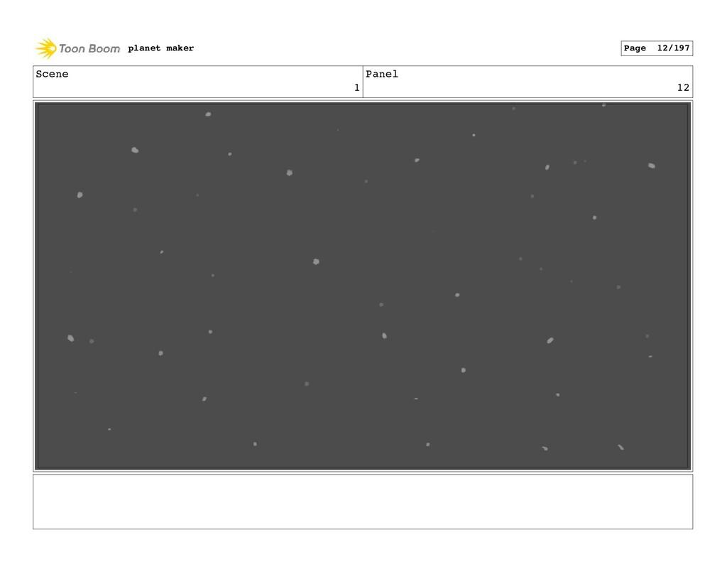 Scene 1 Panel 12 planet maker Page 12/197