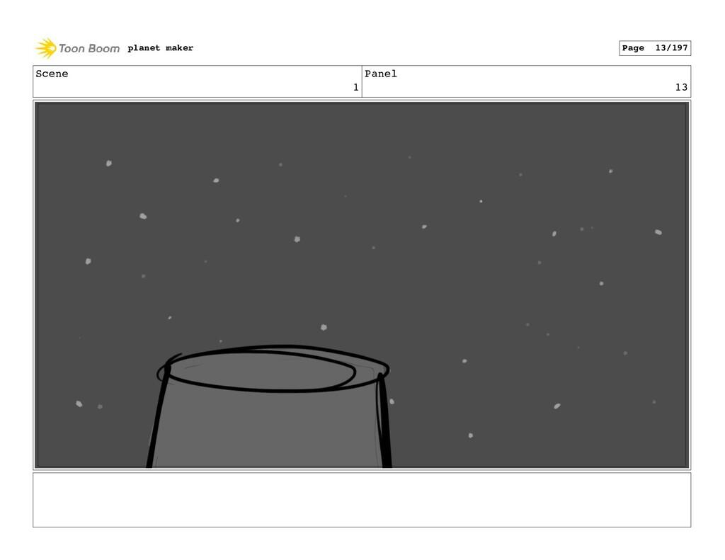 Scene 1 Panel 13 planet maker Page 13/197