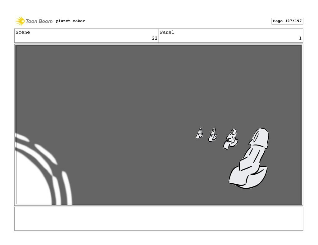 Scene 22 Panel 1 planet maker Page 127/197