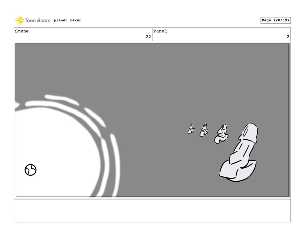 Scene 22 Panel 2 planet maker Page 128/197