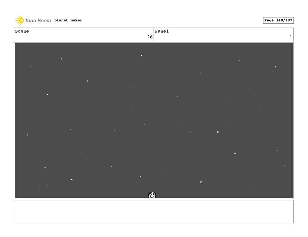 Scene 26 Panel 1 planet maker Page 148/197