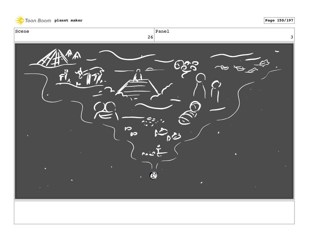 Scene 26 Panel 3 planet maker Page 150/197