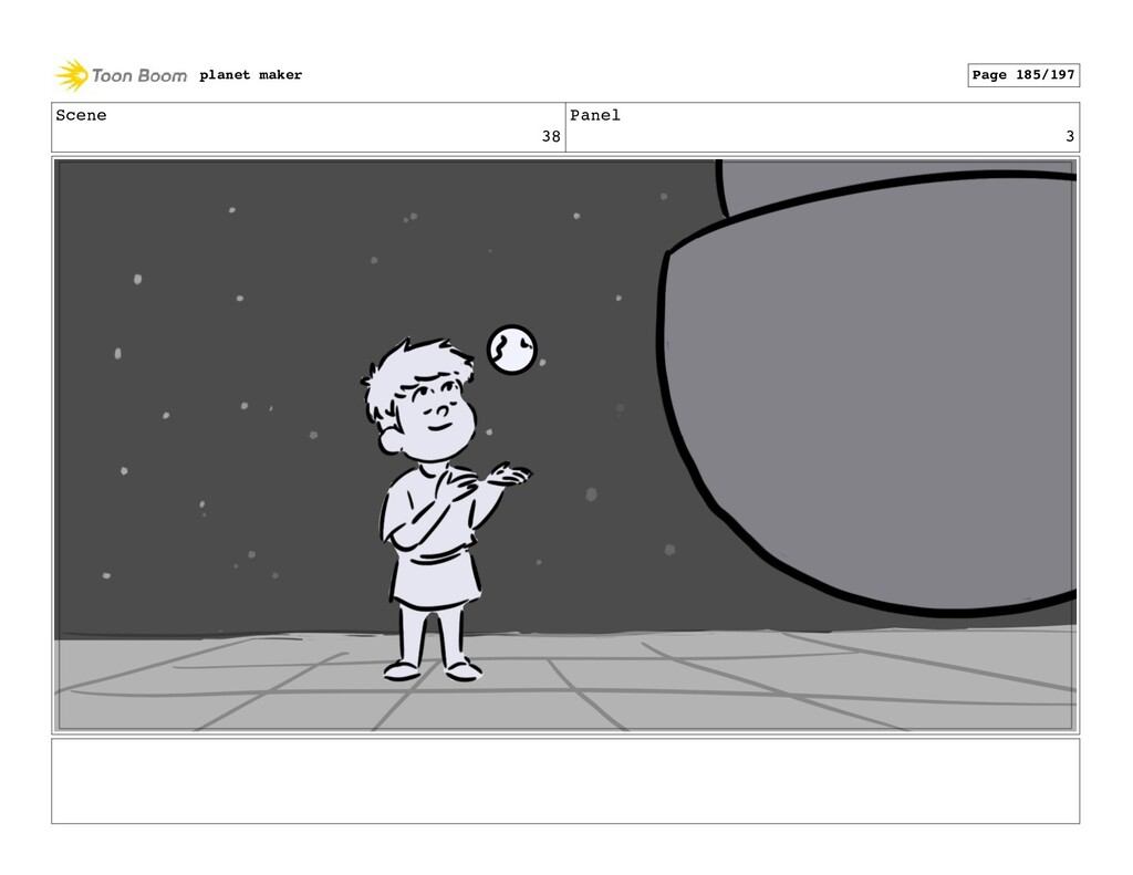 Scene 38 Panel 3 planet maker Page 185/197