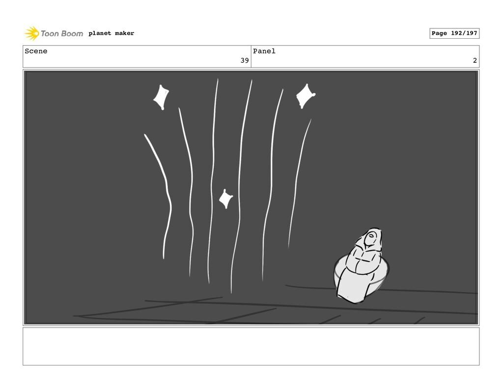 Scene 39 Panel 2 planet maker Page 192/197