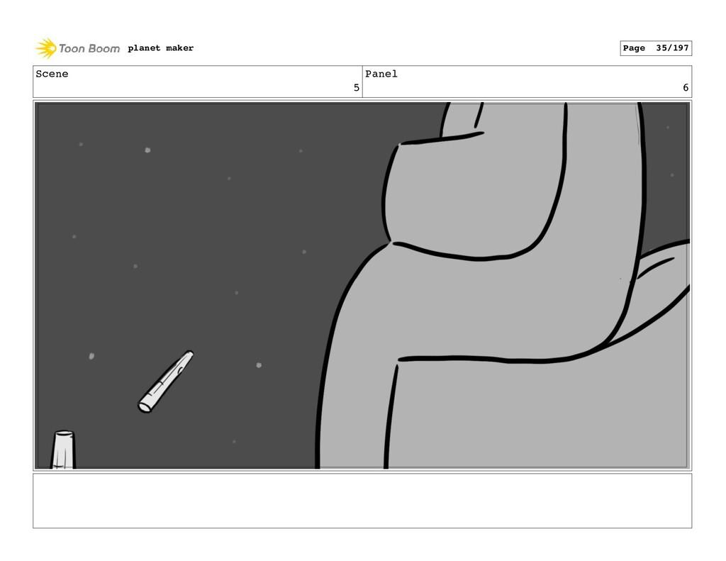 Scene 5 Panel 6 planet maker Page 35/197