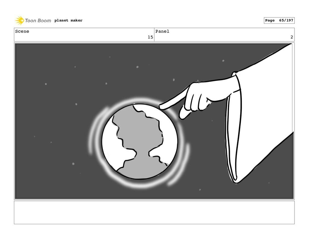 Scene 15 Panel 2 planet maker Page 65/197