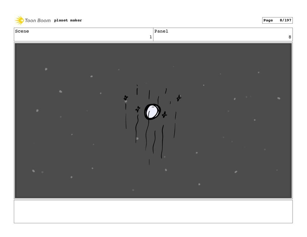 Scene 1 Panel 8 planet maker Page 8/197