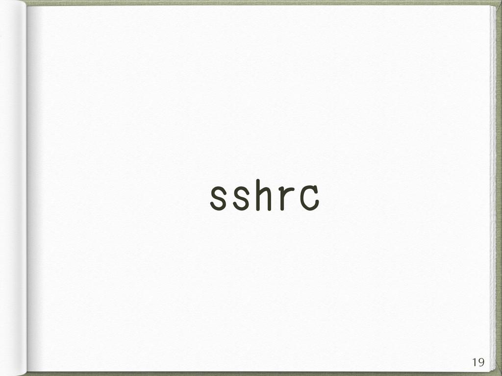 sshrc 19