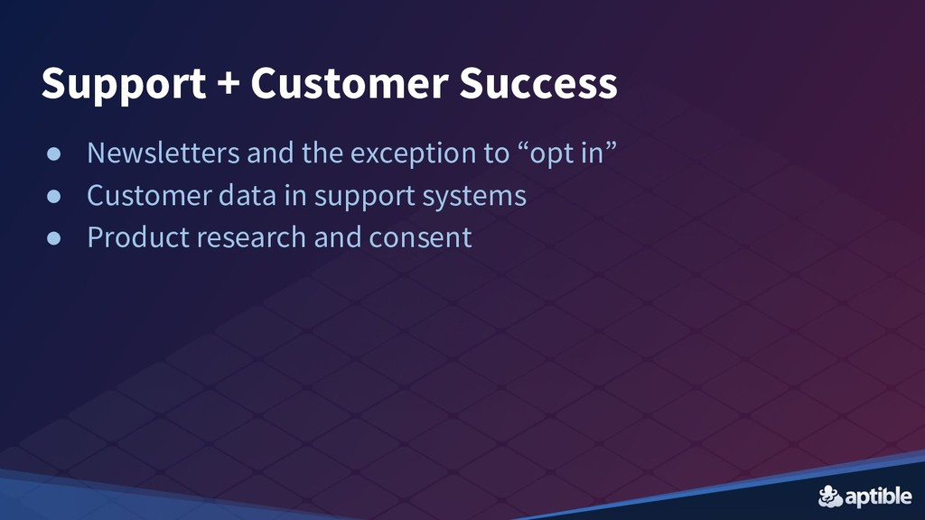 Support + Customer Success ● Newsletters and th...