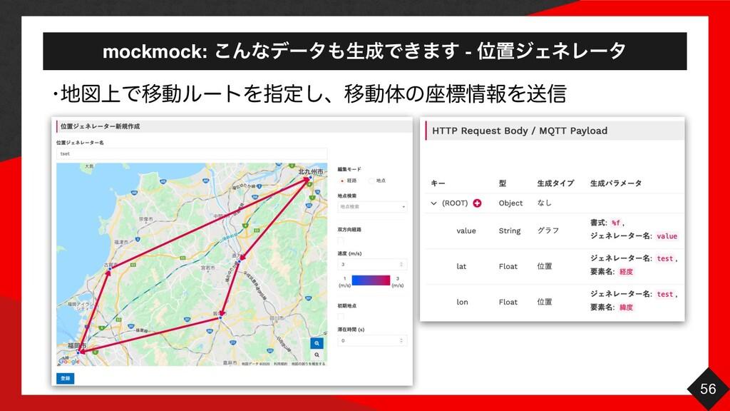 mockmock: ͜ΜͳσʔλੜͰ͖·͢ - ҐஔδΣωϨʔλ 56 wਤ্ͰҠಈϧʔ...