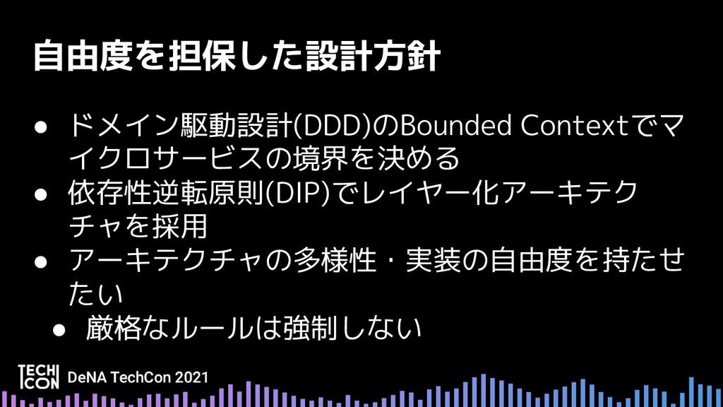 ● ドメイン駆動設計(DDD)のBounded Contextでマ イクロサービスの境界を決め...