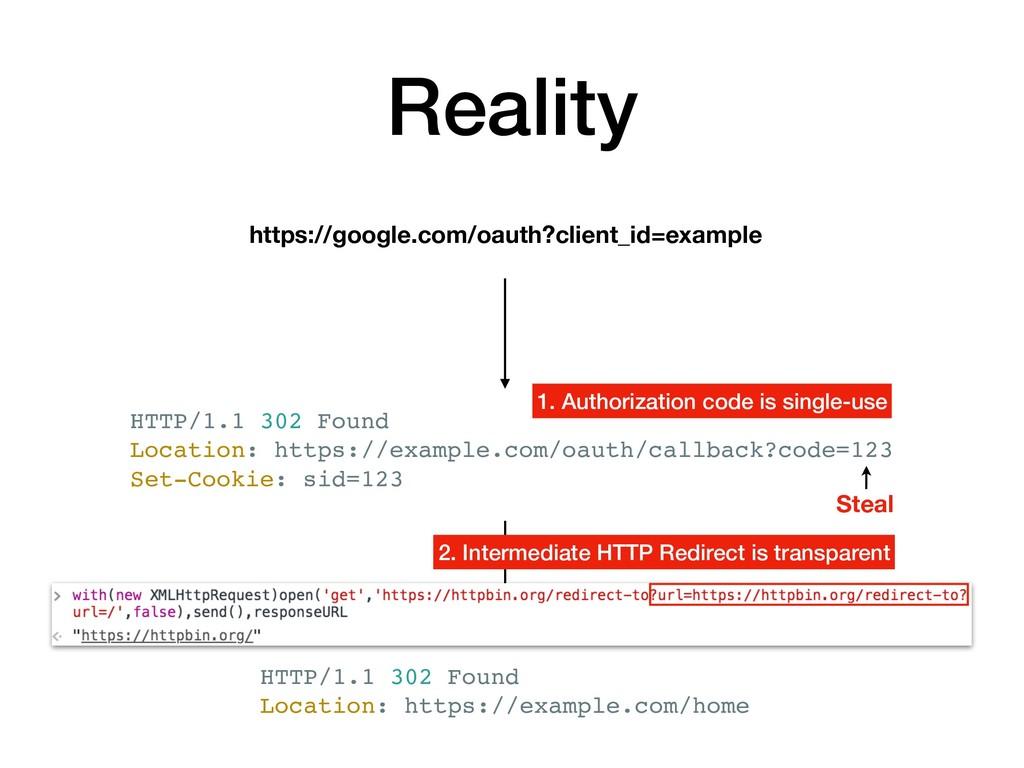 Reality https://google.com/oauth?client_id=exam...