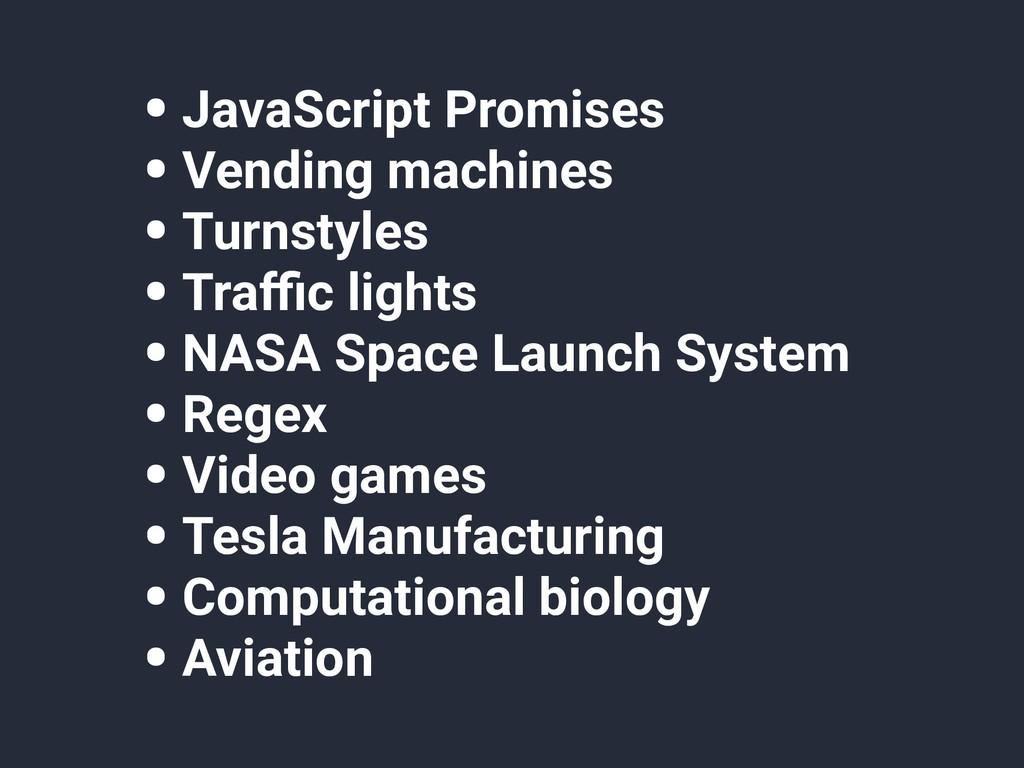 • JavaScript Promises • Vending machines • Turn...