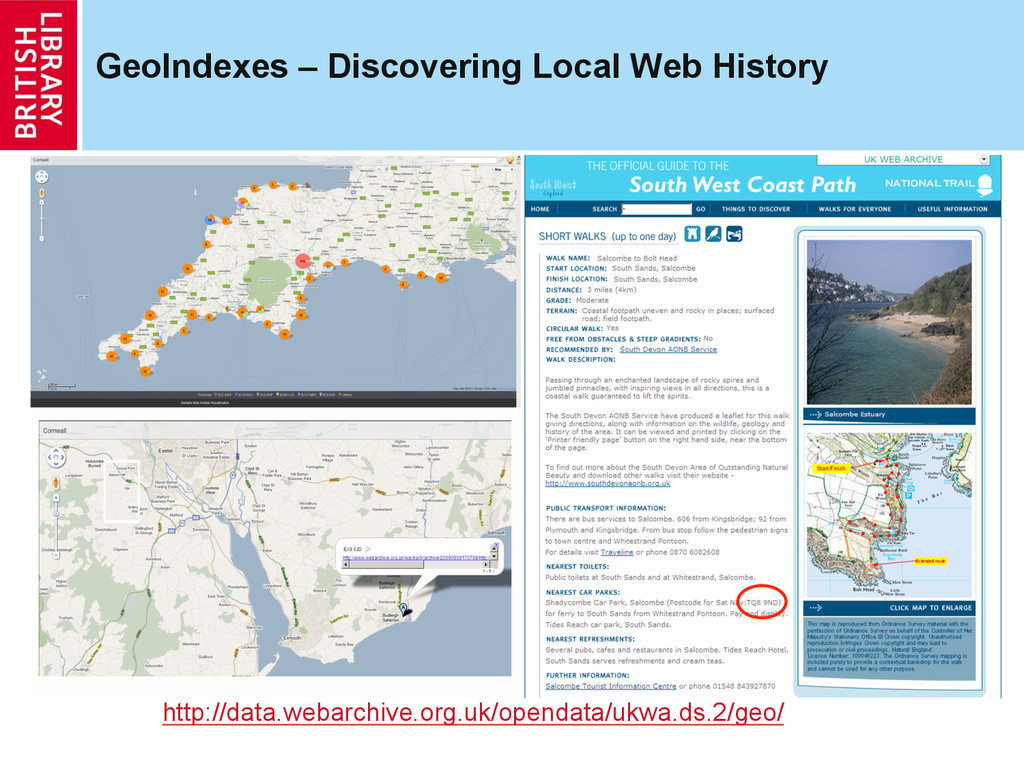 GeoIndexes – Discovering Local Web History http...