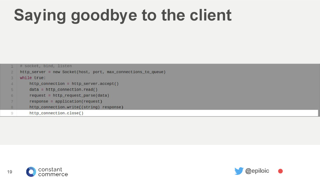 Saying goodbye to the client 19 @epiloic