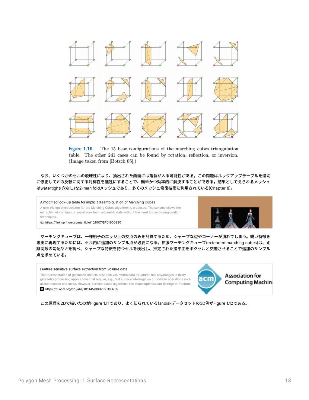 Polygon Mesh Processing: 1. Surface Representat...