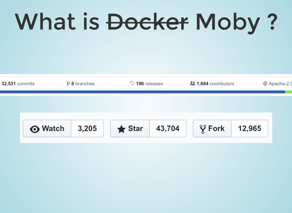 What is Docker Moby ?
