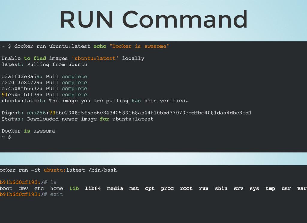 ocker run -it ubuntu:latest /bin/bash b91b6d0cf...